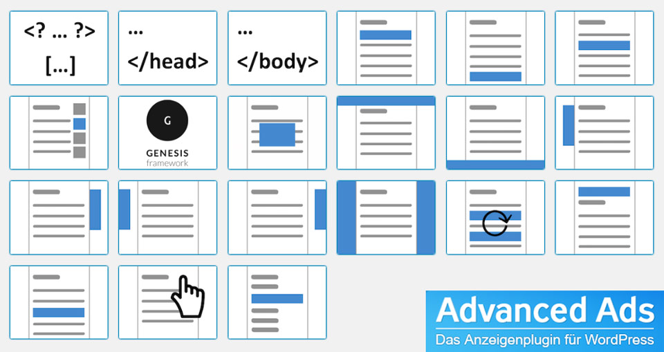 Alternative zum AdSense-Plugin: Advanced Ads