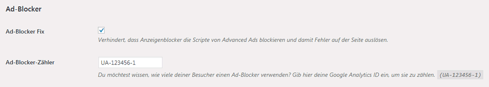 Ad Blocker Zaehler