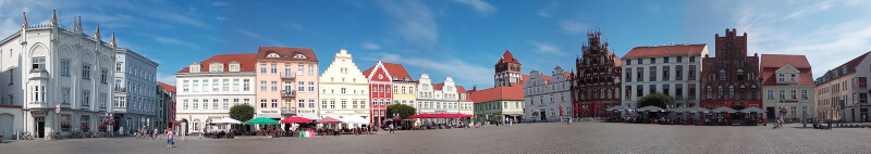 Markt von Greifswald