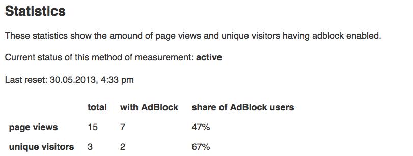 BlockAlyzer statistics data